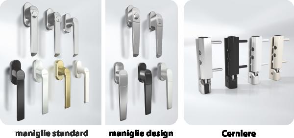Maniglie - Ricambi per maniglie finestre in alluminio ...